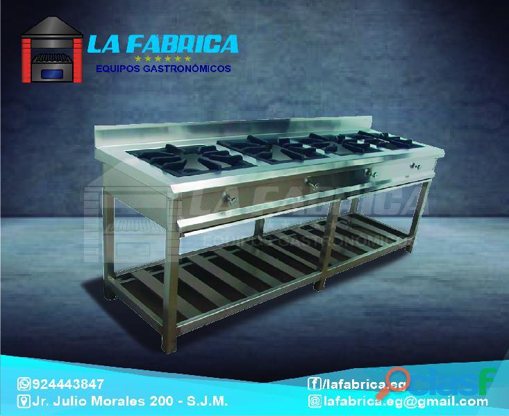 Cocinas modelos personalizados en acero   la fábrica