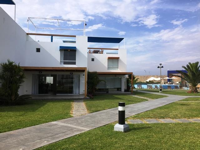 Alquiler temporal de casa de playa en condominio privado en