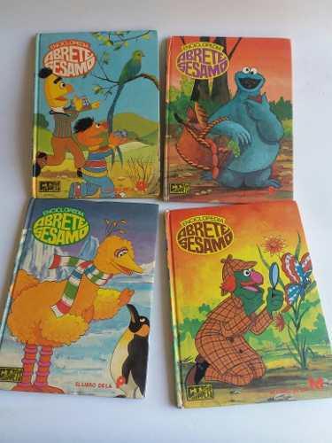 Antiguos Libros Enciclopedia Plaza Sésamo De 1985. 20c/u