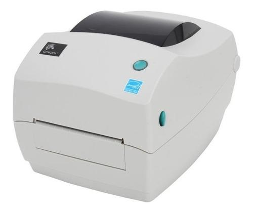 Impresora de codigos de barra etiquetas zebra gc420t usb