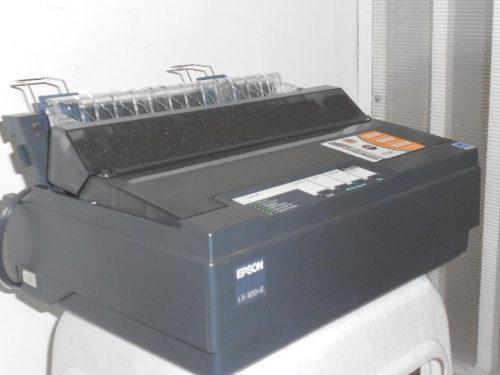 Impresora epson lx 300 + ii - negra - importada - garantia