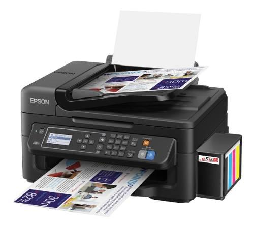 Impresora epson wf-2630 con sistema continuo (epson l575)