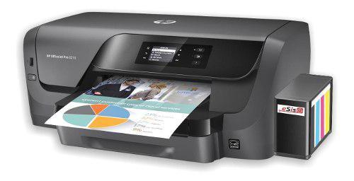 Impresora hp officejet pro 8210 sistema continuo profesional
