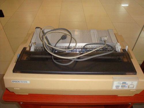 Impresora matricial epson fx-1170, detalle