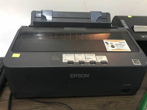 Impresora matricial epson lx 350- repotenciada- garantia