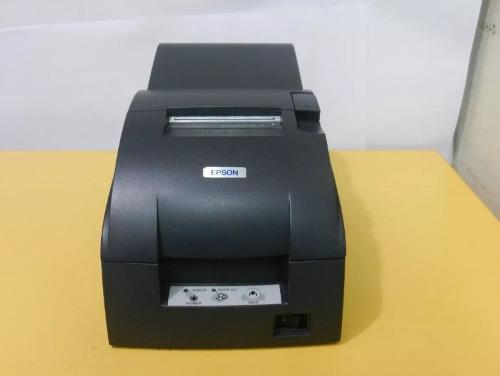 Impresora ticketera pos venta epson usb tmu-220 caja