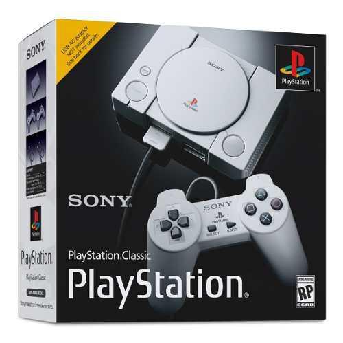 Playstation classic mini + flasheo con 40 juegos adicionales