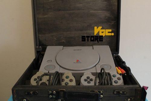 Playstation ps1 fat pal 220v + 2 mandos originales