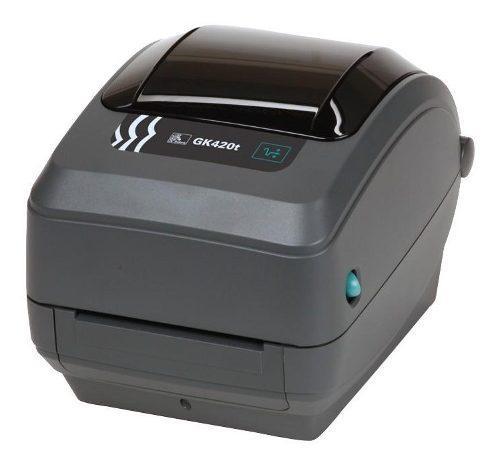 Zebra gk420t impresora etiquetas código de barras