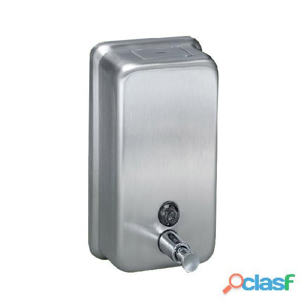 Dispensador de jabón líquido acero inoxidable vertical 1200 ml
