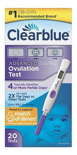 Clearblue Advanced Digital 20 Test De Ovulación