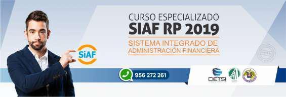 Curso taller sistema integrado de administración financiera