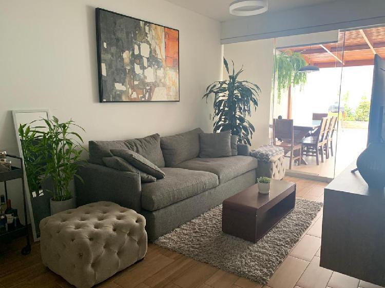 Departamento en 1er piso terraza 2 cocheras san isidro