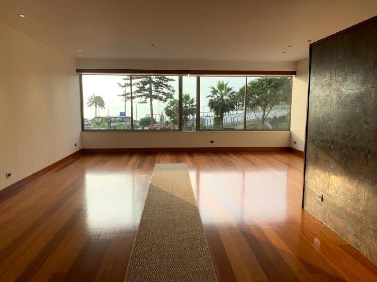 En venta dpto 240 m² 3 dorm + 2 estac en malecón con vista