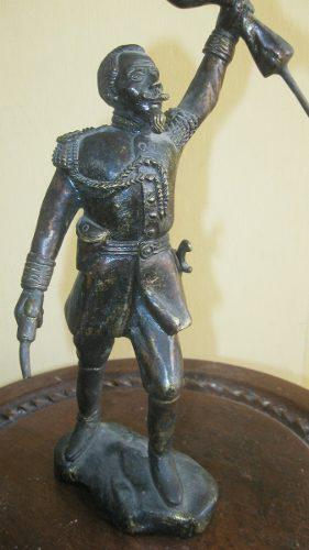 Tesoros escultura de bronce francisco bolognesi