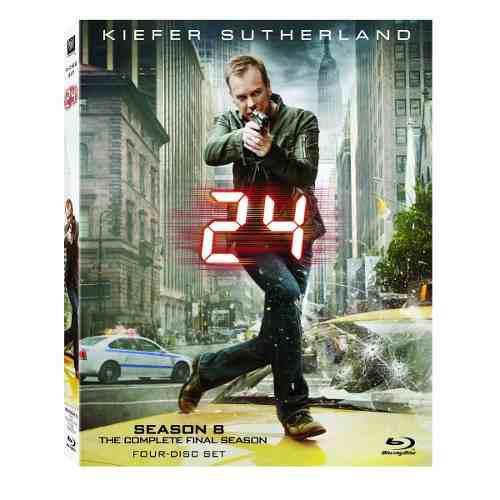 Blu Ray 24: Season 8 - Stock - Nuevo - Sellado