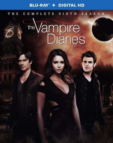 Blu Ray Diario De Vampiros: 6ta. Temporada - Stock - Nuevo