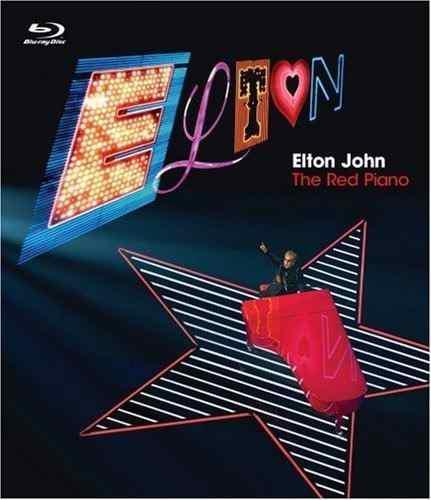 Blu Ray Elton John: The Red Piano - Stock - Nuevo