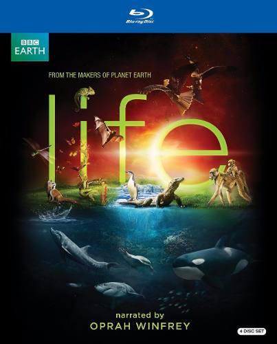 Blu Ray Life Narrado Por Oprah Winfrey - Stock - Nuevo