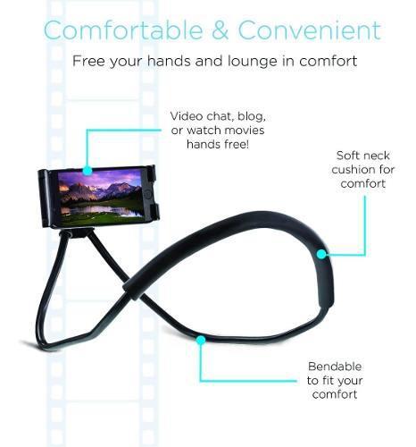 Holder laziest p/ tablet ipad y smartphone universal - lima
