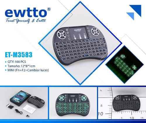 Teclado smart tv, tablet, celular