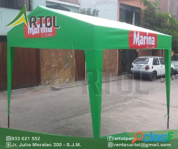 Toldos Modelos Variados Desarmables Casita   Artol Perú 4
