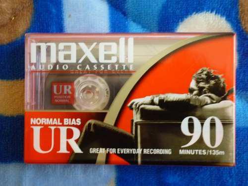 10 Cassette En Blanco Nuevo - 60 Y 90 Minutos Maxell / Tdk /