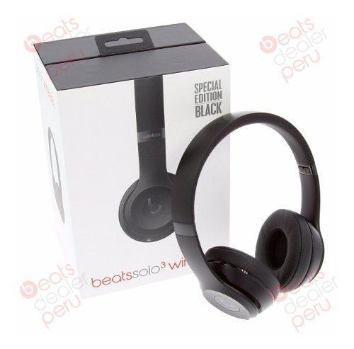 Audifonos Beats Solo 3 Wireless 2020 By Dr. Dre Original Nue
