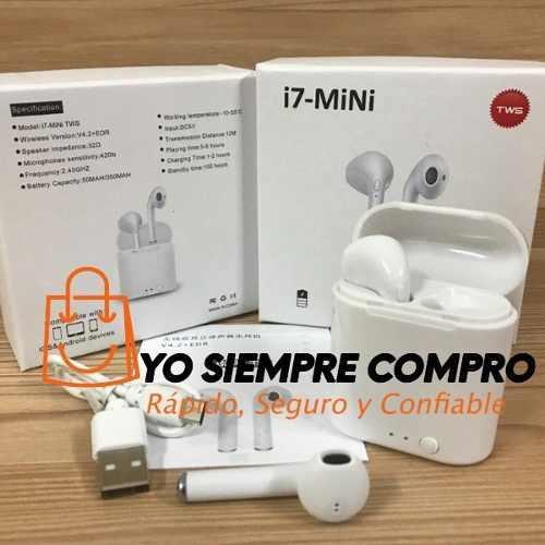 Audifonos Bluetooth Inalambrico I7s Mini Tws Yosiemprecompro