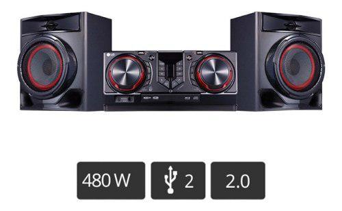 Lg Minicomponente Cj44 Xboom 480w Bluetooth Dj