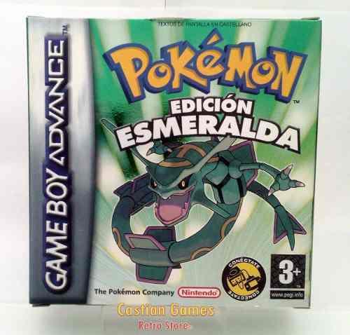 Pokemon Esmeralda Emerald Gba Español Completo 100%