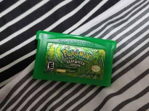 Pokemon Leaf Green Verde Hoja Original