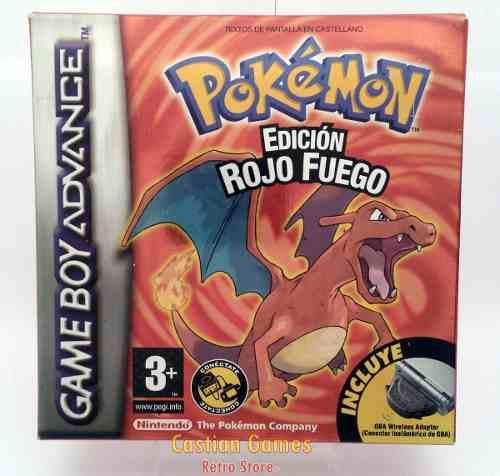 Pokemon Rojo Fuego Fire Red Español Completo 100% Original