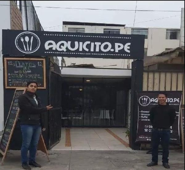 Traspaso Restaurante /Liquidación s/. 70,000