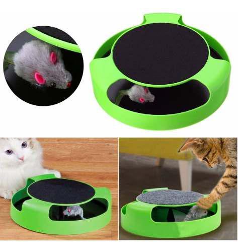 Juego atrapa al raton para gatos mascotas juguete