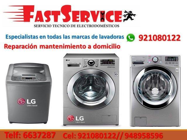 Fastservice servicio técnico profesional lg 921080122