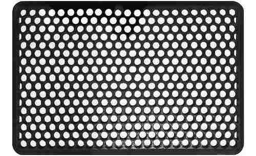 Alfombra caucho reciclado 86x56x1.3 cms shepherd hardware