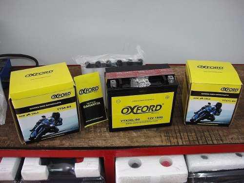 Bateria para moto oxford modelo ytx20l-bs