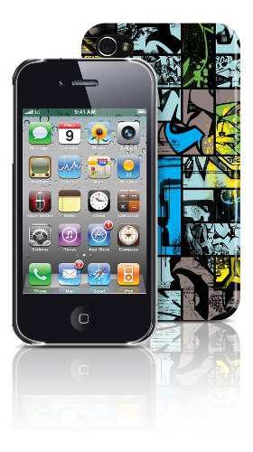 Carcasa iphone 4/4s comic graff