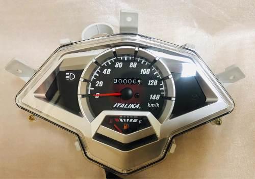 Velocimetros para todos los modelos de motos italika
