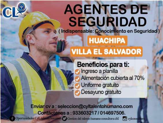 20 agentes de seguridad ves 977522812 / 933603217 en lima