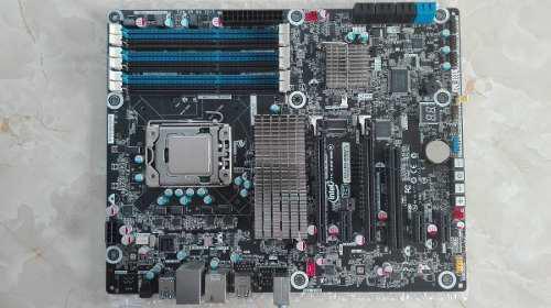 Placa socket 1366 x58 intel dx58og + core i7 930