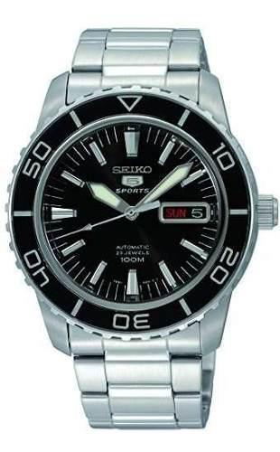 Seiko 5 Snzh55 Reloj Automatico De Acero Inoxidable Con Esfe