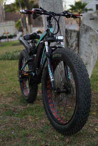 Bicicleta eléctrica gobike aro 26 llanta 4 doble