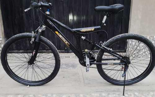 Bicicleta montañera aro 26 doble suspension - oferta!!