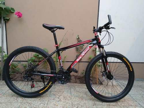 Bicicleta montañera aro 26 freno de disco