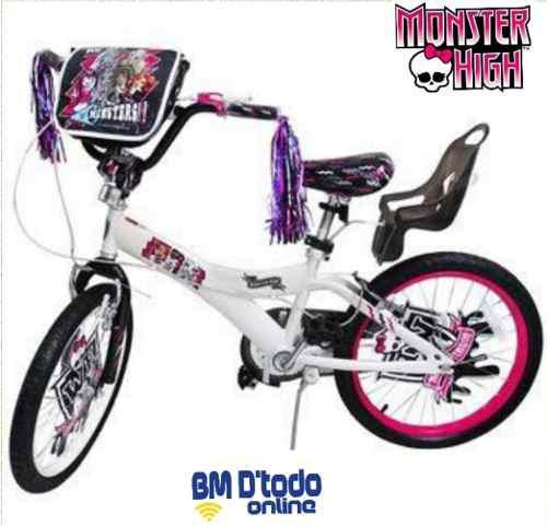 Bicicleta niña bmx monster high a break aro 20 original