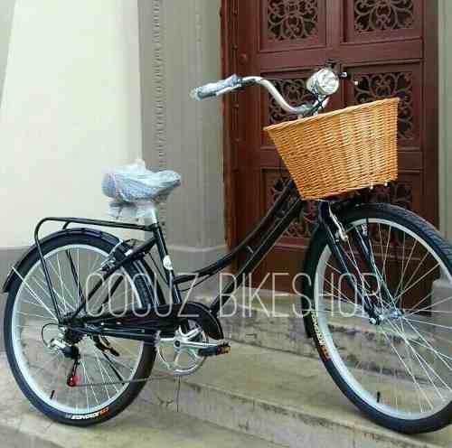 Hermosa Bicicleta Vintage Paseo Aro26 - 6 Velocidades Shiman