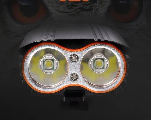 Luces led bicicleta recargable 2200 lumens