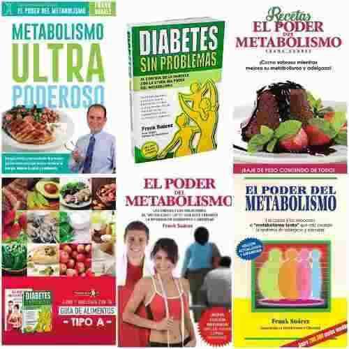 Pack 5 libros el poder del metabolismo envío por mail